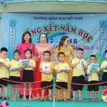 Trường mầm non Việt Anh tổng kết năm học 2017 – 2018