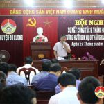 UBND huyện Đô Lương tổ chức hội nghị sơ kết công tác 6 tháng đầu năm 2018