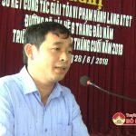 UBND huyện Đô Lương: Sơ kết công tác giải tỏa vi phạm giải tỏa hành lang ATGT đường bộ, vỉa hè 6 tháng đầu năm, triển khai nhiệm vụ 6 tháng cuối năm 2018
