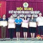 LĐLĐ huyện Đô Lương sơ kết hoạt động công đoàn 6 tháng đầu năm và tổng kết hoạt động tháng công nhân năm 2018