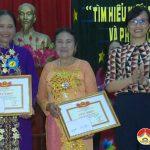 Hội phụ nữ Thị Trấn tổ chức hội thi tìm hiểu kiến thức phòng chống bạo lực gia đình và phòng chống xâm hại trẻ em.