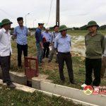 BQL dự án Jica: Kiểm tra khắc phục các sự cố kỹ thuật và bất cập tại Đô Lương