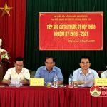 Ông Hoàng Viết Đường – Phó chủ tịch HĐND tỉnh tiếp xúc cử tri xã Đặng Sơn