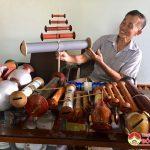 Ông Đinh Xuân Quảng người đam mê diều sáo