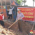 Đô Lương: xây dựng nhà ở cho gia đình có hoàn cảnh đặc biệt khó khăn.