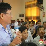 UBND huyện tổ chức hội nghị thống nhất phương án quy hoạch mạng lưới cung cấp nước sạch.