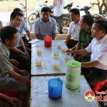 Lãnh đạo Đô Lương thăm hỏi gia đình các cháu bị đuối nước