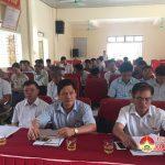Xã Trù Sơn tổ chức kỳ họp HĐND lần thứ 6