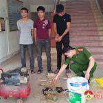 Công an Đô Lương bắt giữ đối tượng làm giả kim loại bạc