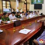 UBND huyện tổ chức hội nghị thường kỳ tháng 7  và triển khai nhiệm vụ tháng 8