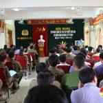 Đô Lương tổ chức hội nghị tập huấn công tác tha tù trước thời hạn có điều kiện và quản lý tù treo
