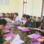 Đảng ủy quân sự ra Nghị Quyết lãnh đạo thực hiện 6 tháng cuối năm 2018