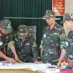 Sư đoàn 324  Diễn tập Chỉ huy – Cơ quan 1 bên 2 cấp trên trên bản đồ
