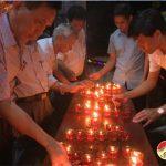 Thị trấn Đô Lương tổ chức lễ thắp nến tri ân các anh hùng liệt sỹ nhân ngày thương binh liệt sỹ 27/7