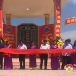 Xã Mỹ Sơn khánh thành nhà bia tưởng niệm các liệt sỹ