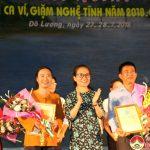 Lễ trao thưởng Liên hoan dân ca ví, dặm Nghệ Tĩnh