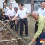 Hội CCB Đô lương khởi công xây dựng nhà tình nghĩa