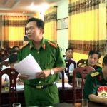 Ban chỉ đạo diễn tập huyện Đô Lương họp triển khai công tác tổ chức diễn tập khu vực phong thủ huyện năm 2018.