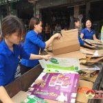 Đoàn xã Quang Sơn: Tổ chức nhiều hoạt động gây quỹ giúp đỡ trẻ em nghèo.