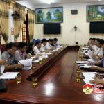 Sở nội vụ kiểm tra công tác cải cách hành chính tại Đô Lương
