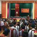 Đảng bộ huyện Đô Lương: Học tập, quán triệt, triển khai thực hiện Nghị quyết hội nghị lần thứ 7 BCH Trung ương Đảng  khóa XII và Đề án hợp nhất Văn phòng xã, Thị trấn.