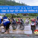 Mỹ Sơn: Đoàn viên thanh niên rửa xe gây quỹ hỗ trợ học sinh nghèo