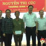 Trao nhà tình nghĩa cho hội viên cựu TNXP Nguyễn Thị Cúc