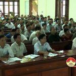 Đảng bộ xã Văn Sơn: Hội nghị Sơ kết giữa nhiệm kỳ Nghị Quyết Đại hội Đảng bộ nhiệm kỳ 2015- 2020 và Sơ kết công tác Đảng 6 tháng đầu năm 2018