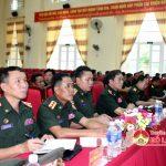 Sư đoàn 324: Tổ chức tập huấn công tác hậu cần cho cán bộ Quân đội Lào