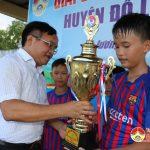 Đội tuyển bóng đá nam nhi đồng Thái Sơn giành chức vô địch