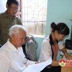 Đô Lương: Trao quà 70 tới nạn nhân chất độc da cam