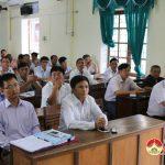 Ban tuyên  giáo huyện ủy tổ chức tập huấn nghiệp vụ tuyên truyền cơ sở năm 2018