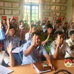 Hiệp thương bầu chức danh Chủ tịch Ủy ban MTTQ huyện Đô Lương