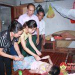 Hội Nạn nhân chất độc gia cam Đô Lương tặng 70 suất quà cho hội viên