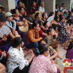 Chung kết bóng chuyền nữ xã Yên Sơn chào mừng 65 năm ngày thành lập xã