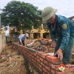 Xã Nhân Sơn: Đầu tư 1,8 tỷ đồng xây dựng 6 phòng chức năng trường Tiểu học