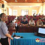 Đô Lương: Tập huấn truyền thông cộng đồng tham gia đảm bảo vệ sinh
