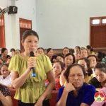 Quỹ TYM Đô Lương tổ chức sinh hoạt chuyên đề vệ sinh an toàn thực phẩm