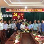 Lãnh đạo huyện Đô Lương chúc mừng Ban tuyên giáo huyện ủy nhân ngày truyền thống