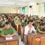 Công an Đô Lương tập huấn nghiệp vụ cho 200 công an viên