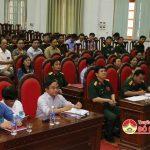 Đô Lương khai mạc diễn tập chiến đấu phòng thủ năm 2018