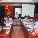 Hội nghị: Ra Nghị quyết Lãnh đạo chuyển địa phương vào trạng thái khẩn cấp quốc phòng.