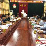 UBND huyện tổ chức phiên họp thường kỳ tháng 8