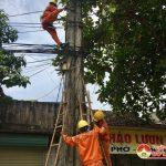 Điện lực Đô Lương: Chỉnh trang hệ thống điện Thị trấn