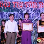 Hội thi văn nghệ chào mừng 65 năm thành lập xã Yên Sơn