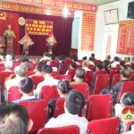 Tân Sơn tổ chức hội nghị học tập, phổ biến Nghị quyết hội nghị lần thứ 7 của ban chấp hành trung ương Đảng khoá XII