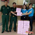 Hội LHPN Đô lương: Tặng trên 25 triệu đồng cho hội viên và học sinh nghèo tại xã Mường Ải huyện Kỳ Sơn.