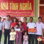 Trao nhà tình nghĩa cho gia đình chị Lê Thị Cảnh