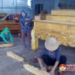 Hội phụ nữ Đô Lương: Tổ chức bế giảng lớp học nghề gia công sản xuất mộc mỹ nghệ