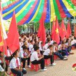 Trường THCS Lý Nhật Quang tổ chức lễ giảng năm học 2018 – 2019